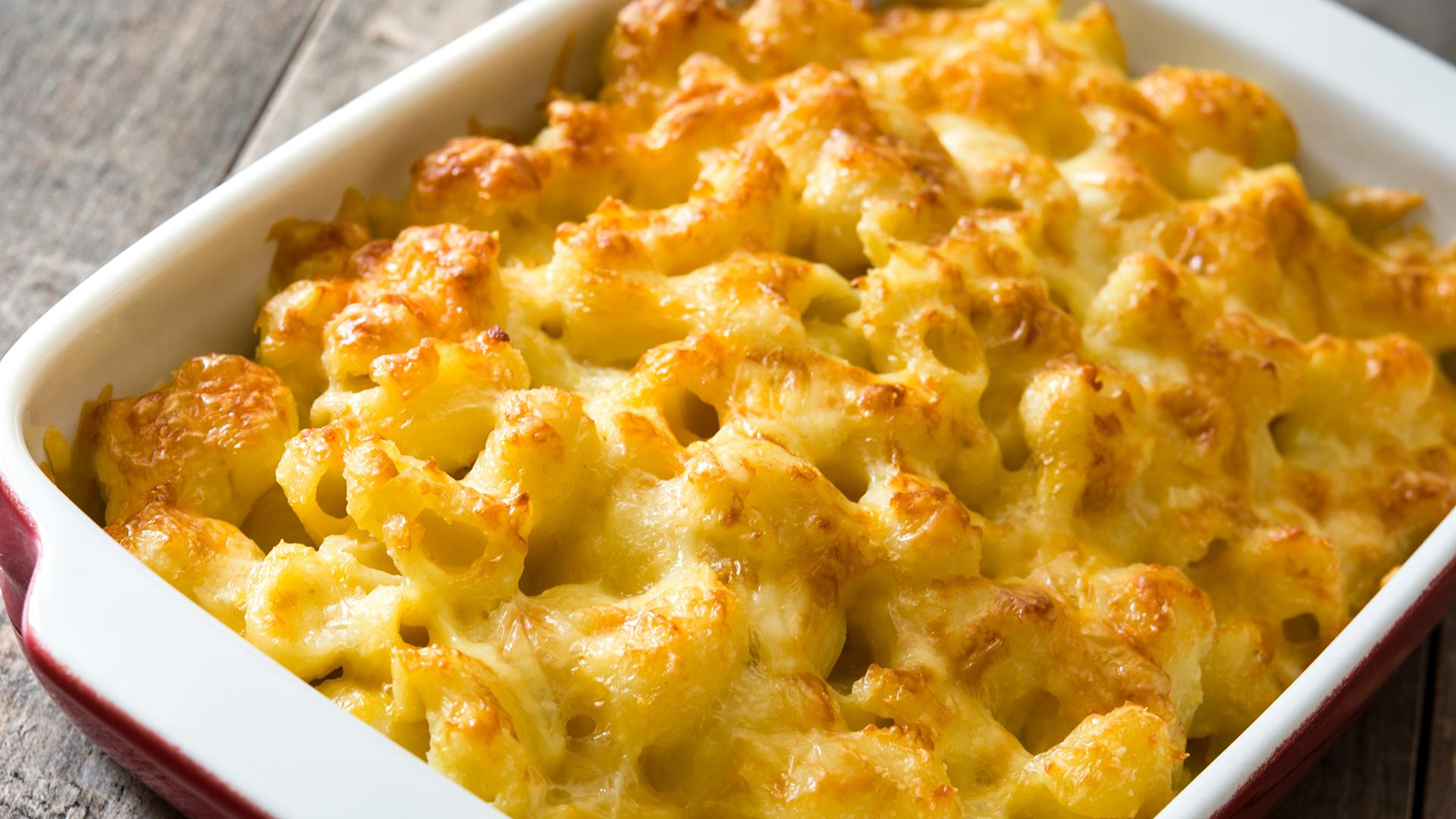 Freezer-To-Oven Mac 'n' Cheese