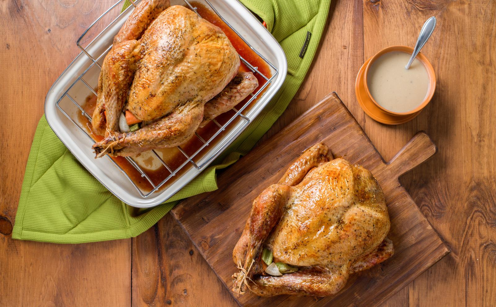 Rachael's Two Small Roast Turkeys