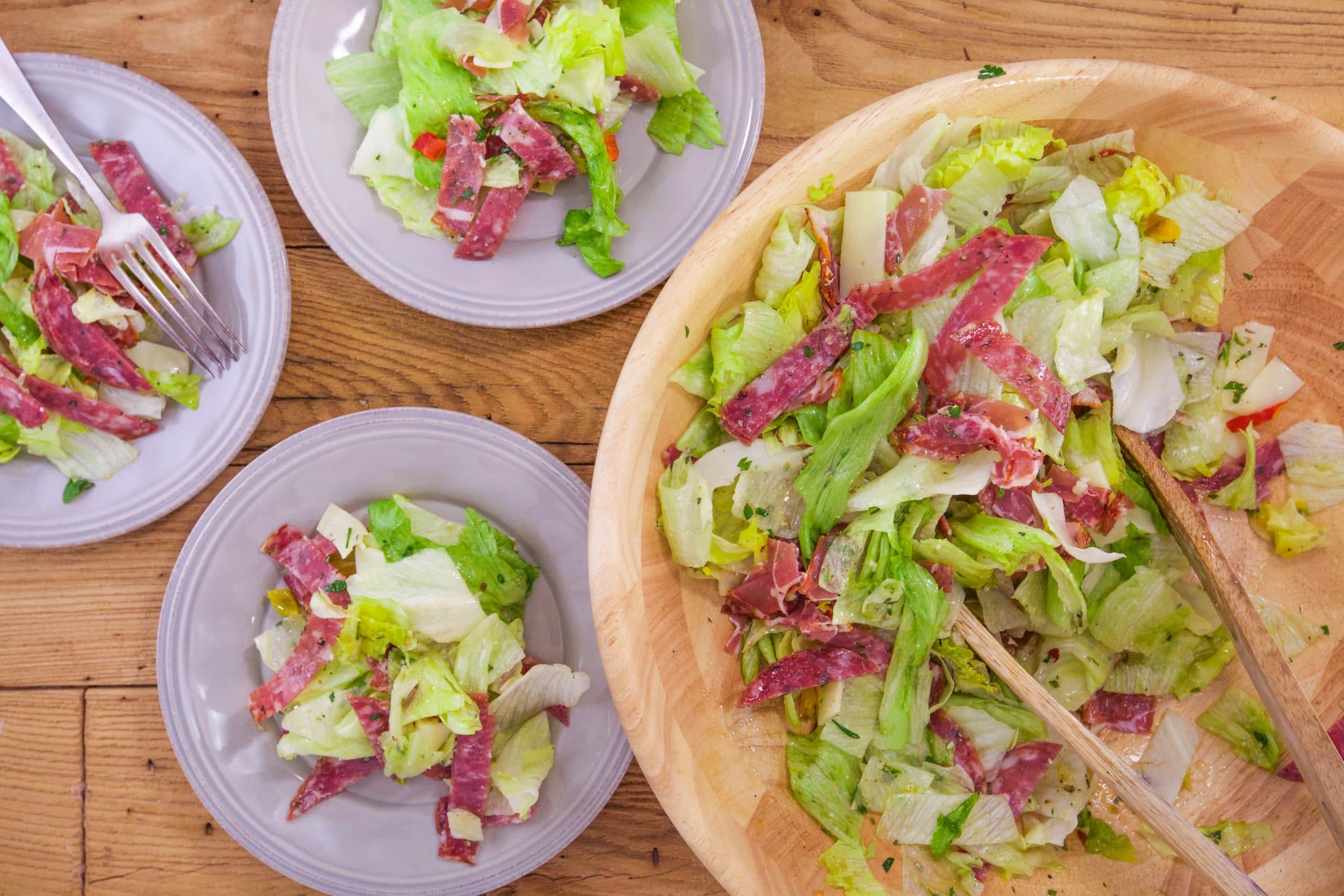 Iceberg Antipasto Salad