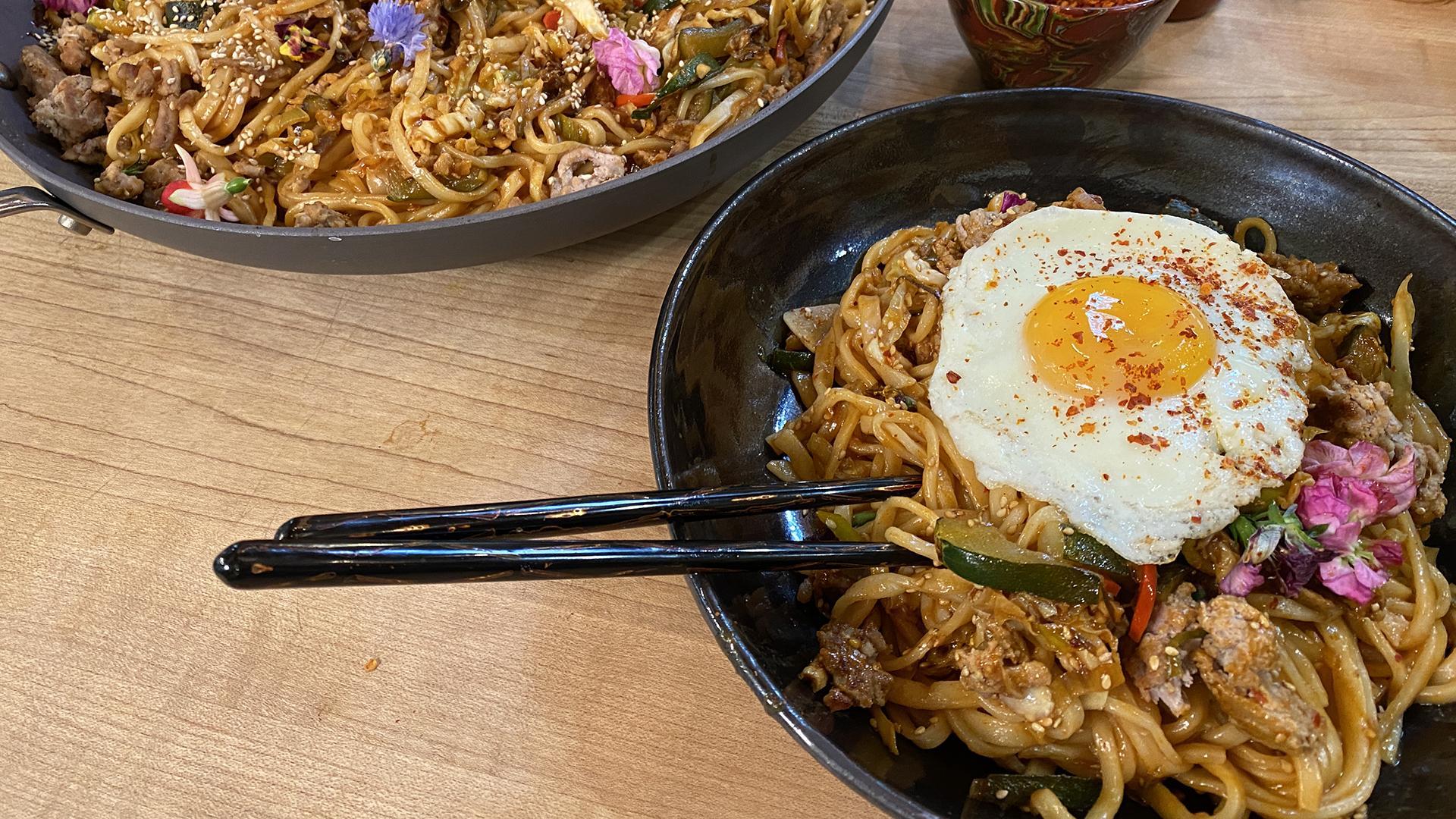 Korean Gochujang Noodles