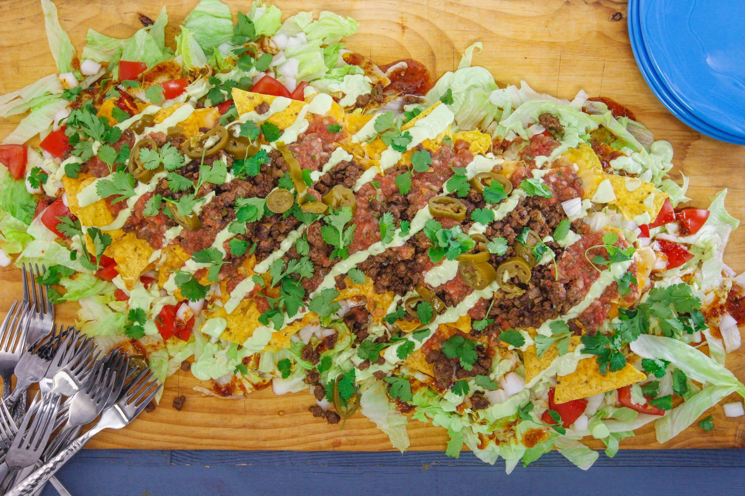 Nacho Average Taco Salad