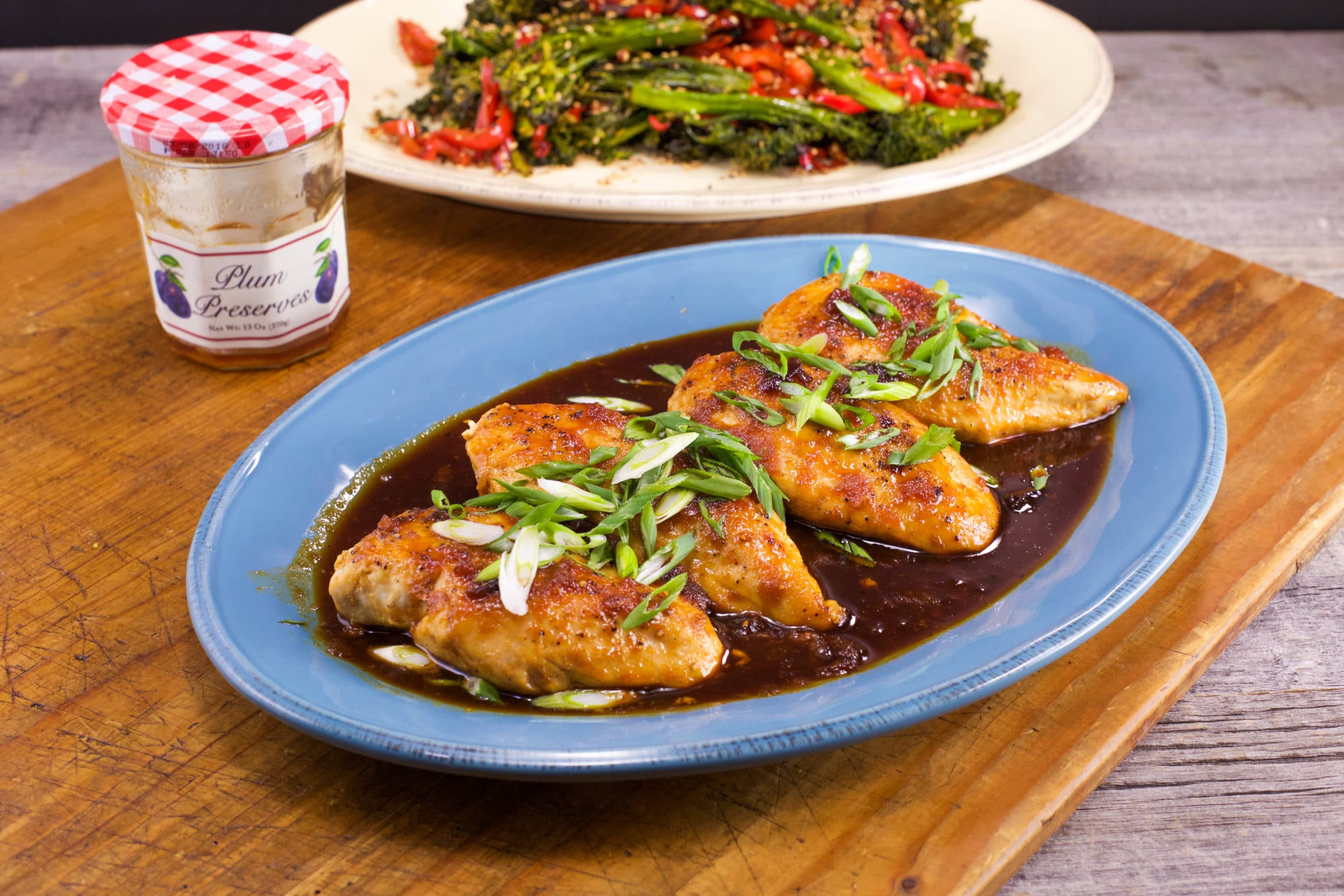 Bottom-of-the-Jar Spicy and Tangy Chicken Marinade