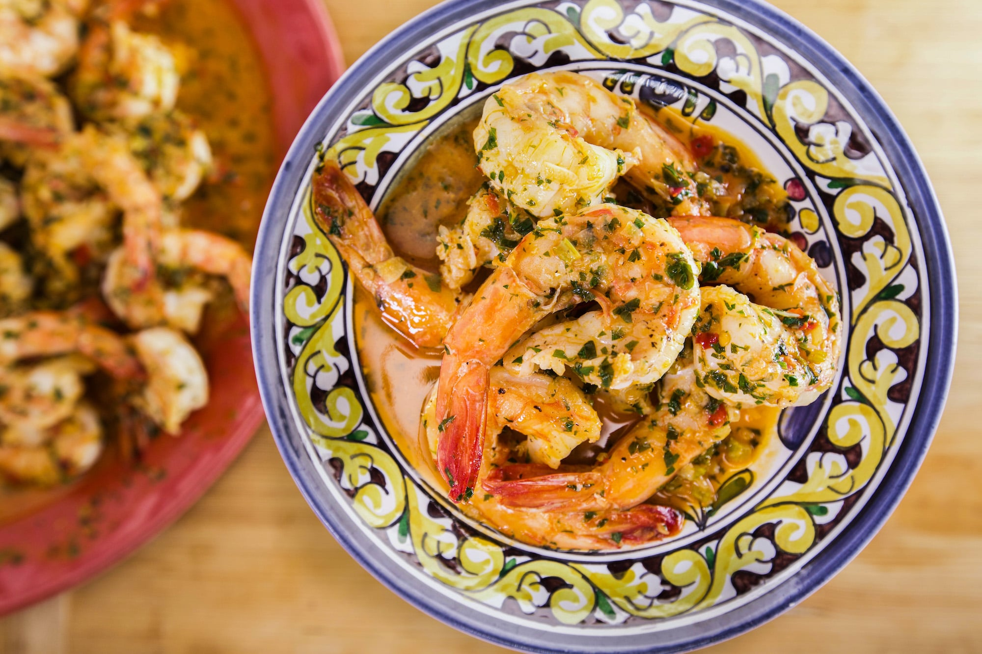 Rachael's Calabrian-Style Shrimp Scampi