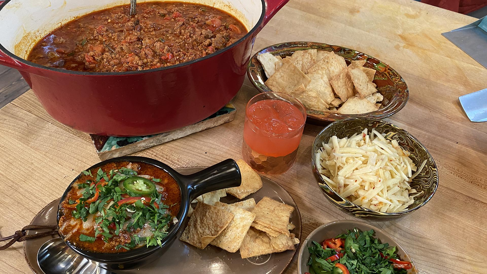 Italian Chili with Red Beans