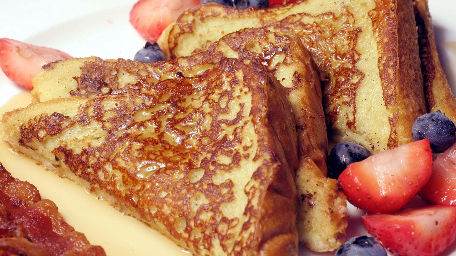Bourbon Vanilla French Toast for Mother's Day Brunch