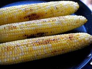 Simple Pan-Seared or Grilled Corn