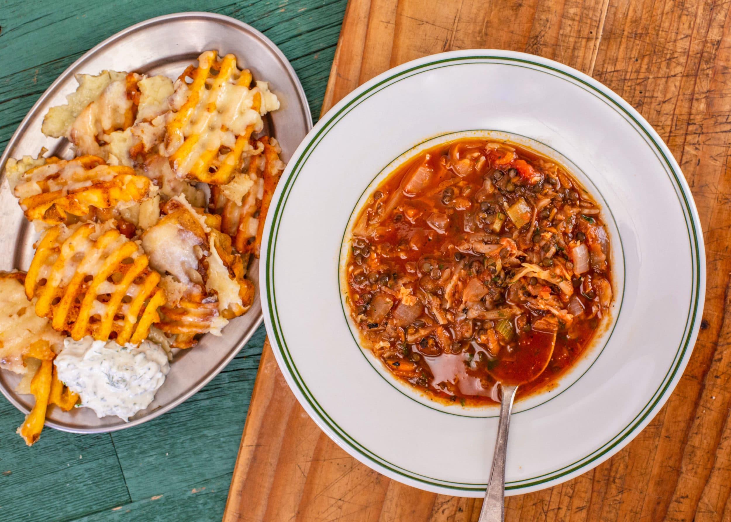 Rachael's Lentil-Cabbage Soup
