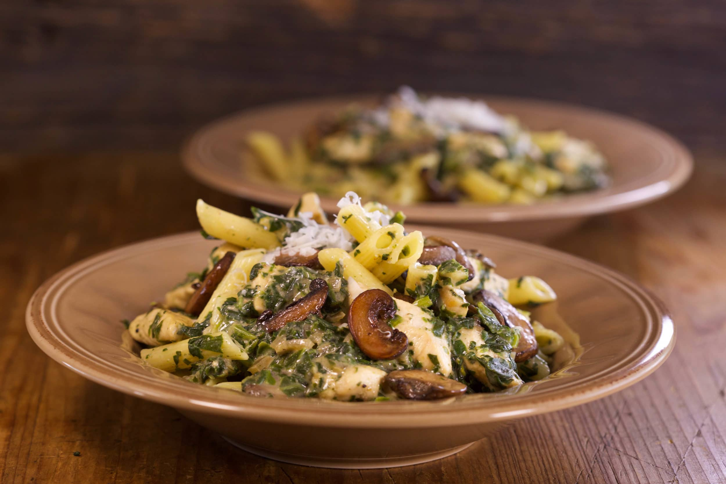 Florentine Penne with Chicken