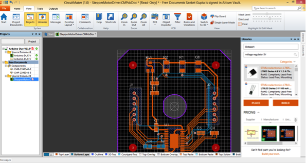 CircuitMaker on Mac OS X - Octopart