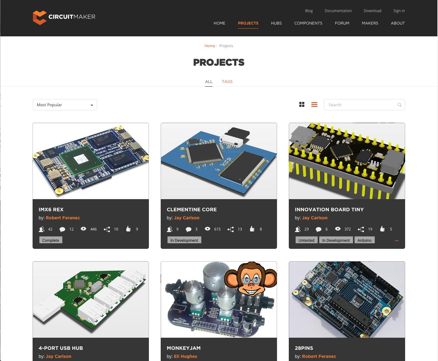 Circuitmaker Sheds Its Beta Label Octopart Circuit Maker Circuitmakerprojects
