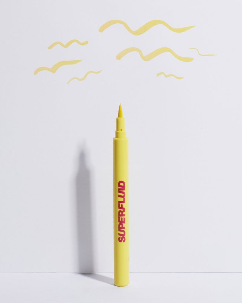 crop liner giallo