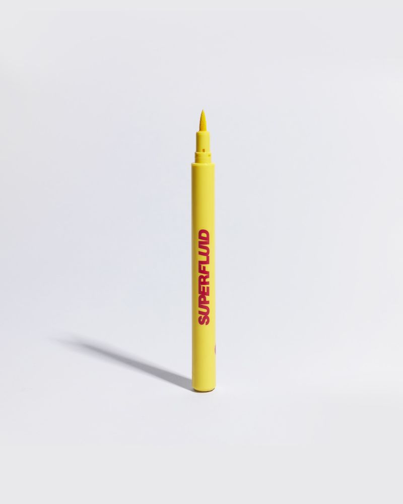 yellow eye liner