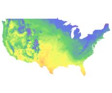 Soil Temperature Map