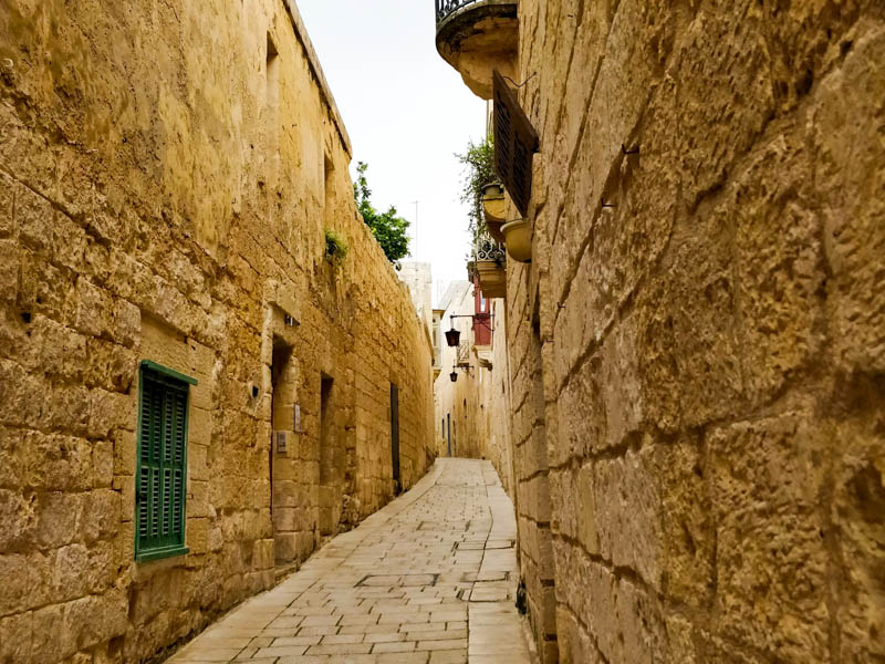 Malta Shoreline Excursions (Malta Private Tours) - Street in Mdina
