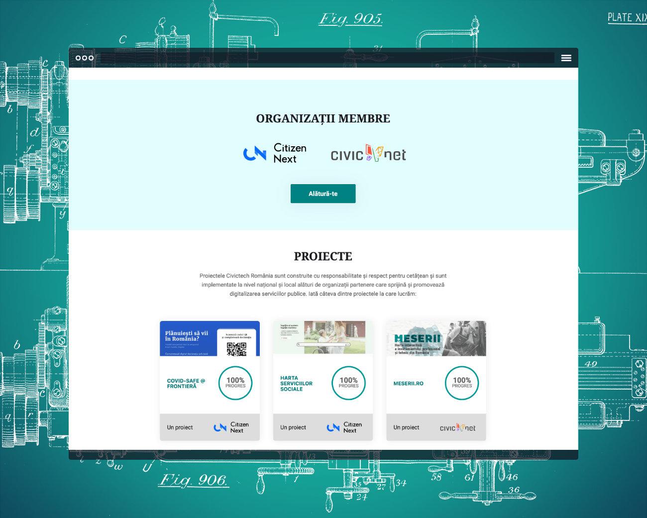 Civictech Romania - Projects