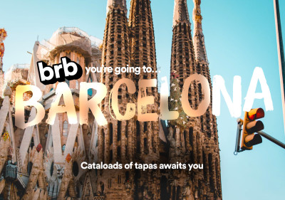 postcard of 48 hours in barcelona