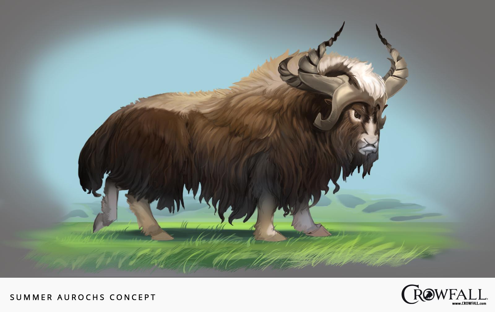 aurochs crowfall
