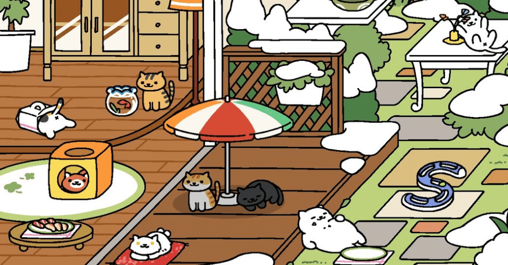 neko atsume game high app downloads