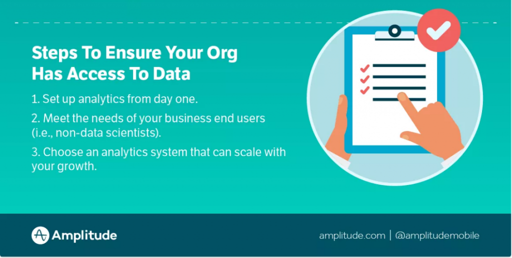 steps to improve company data accessibility