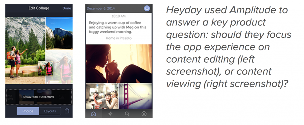 Heyday product question