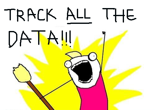 track all the data meme