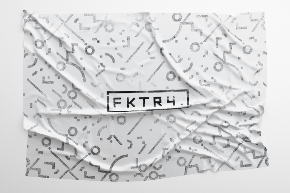 FKTRY Flag white
