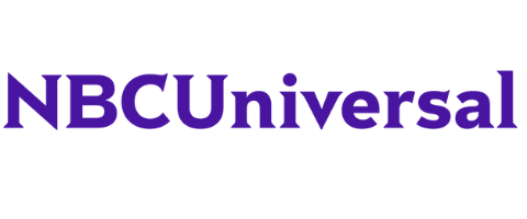 NBC Universal purple logo on Amplitude website