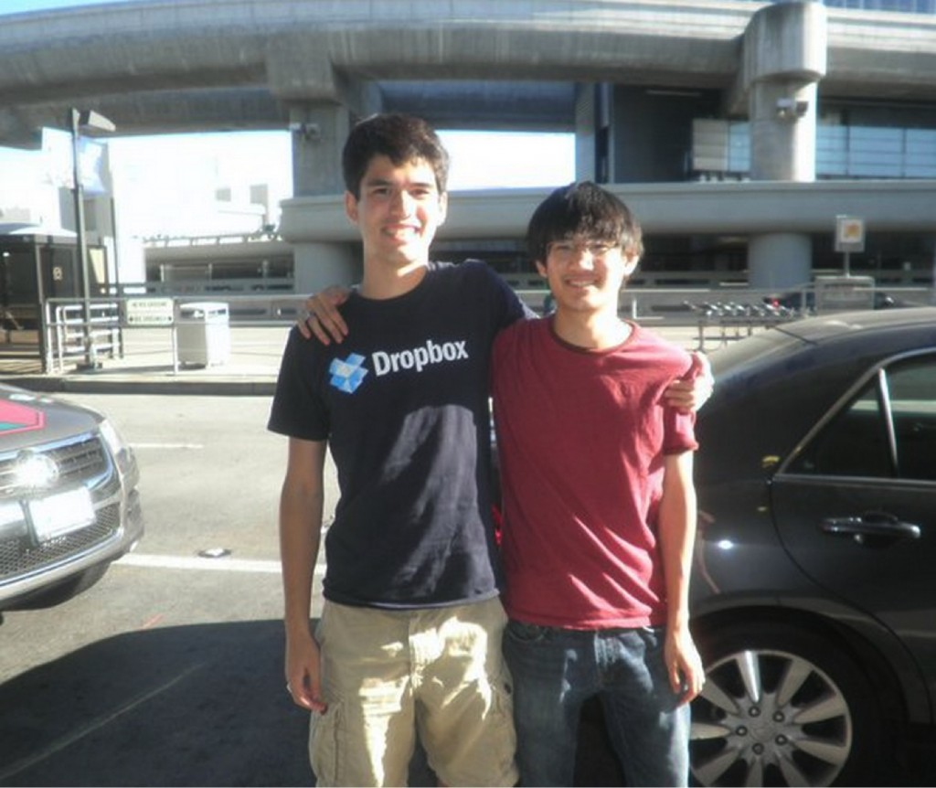 Our cofounders Spenser and Curtis in 2010. Adorbs.