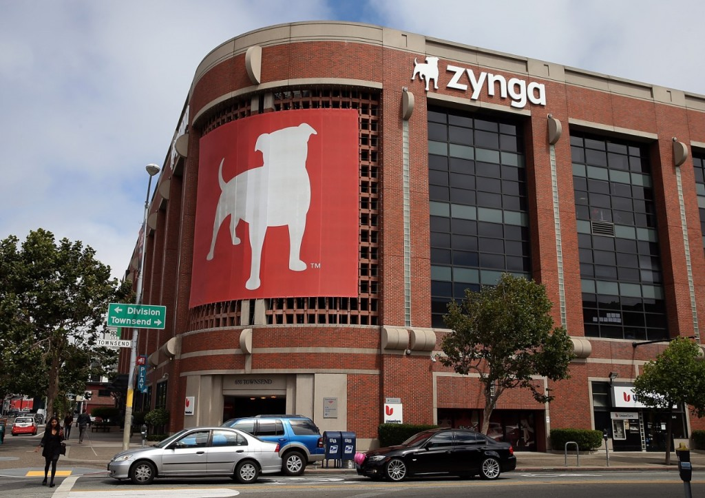 Zynga's main office in San Francisco