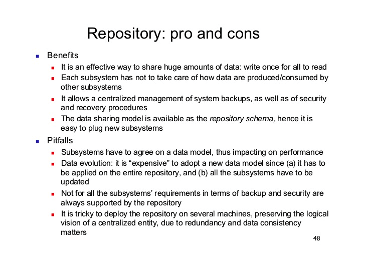 documentation-repository-pros-cons