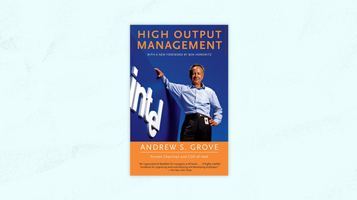 Best Product Management Books | High Output Management
