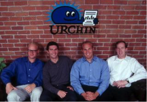 The founding team of Urchin, an early web analytics company.