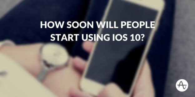 How Soon Will People Start Using iOS 10?