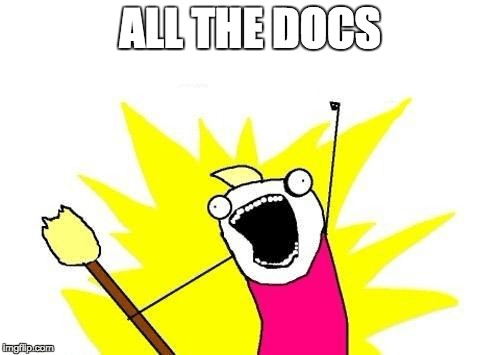 docs in product management, all the docs!