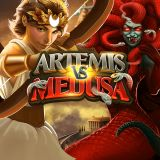 Thumbnail image for Casino Game Artemis vs medusa by Quickspin