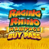 Thumbnail image for Casino Game Raging Rhino Rampage BuyPass by NetEnt