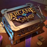 Thumbnail image for Casino Game Arcane Gems by Quickspin