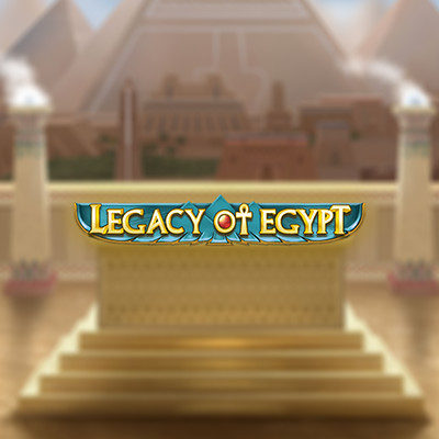 Legacy of Egypt Slot by Play N Go • Casinolytics