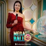 Thumbnail image for Casino Game Mega Ball by Evolution Gaming