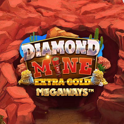Diamond Mine Extra Gold Slot by Blueprint • Casinolytics