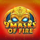 Thumbnail image for Casino Game 9 Masks of Fire by Microgaming