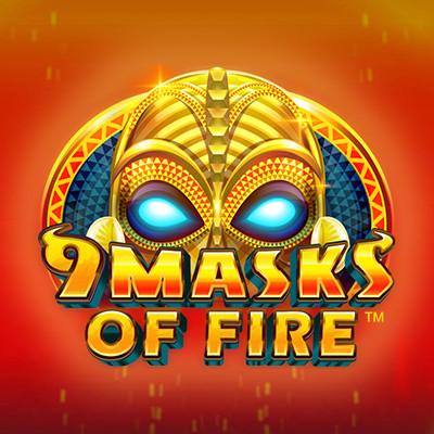 9 Masks of Fire by Microgaming • Casinolytics