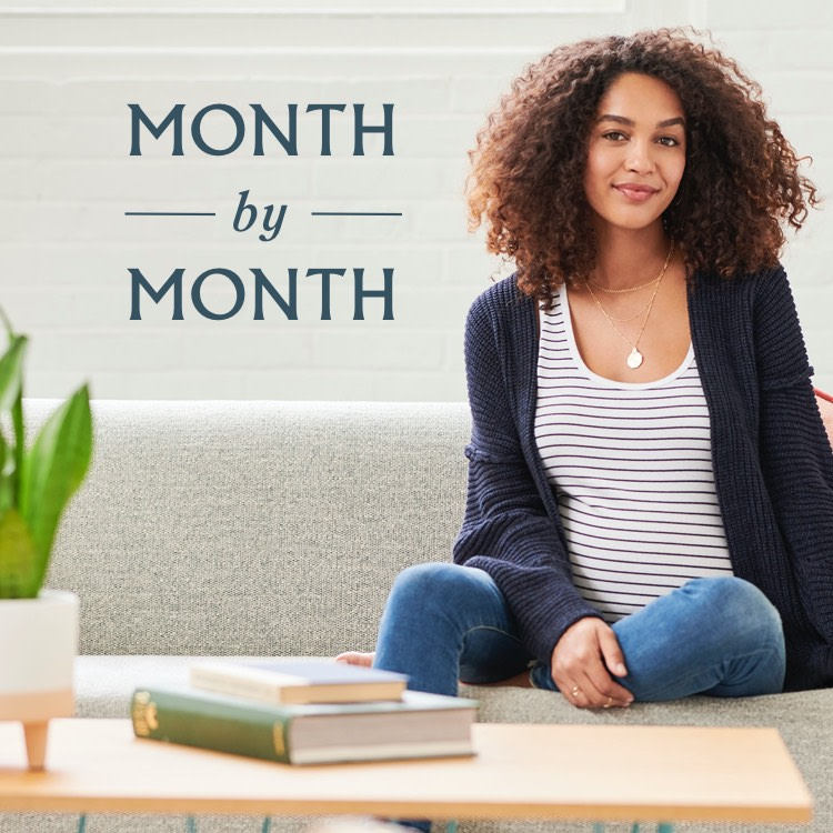 MATERNITY: month by month