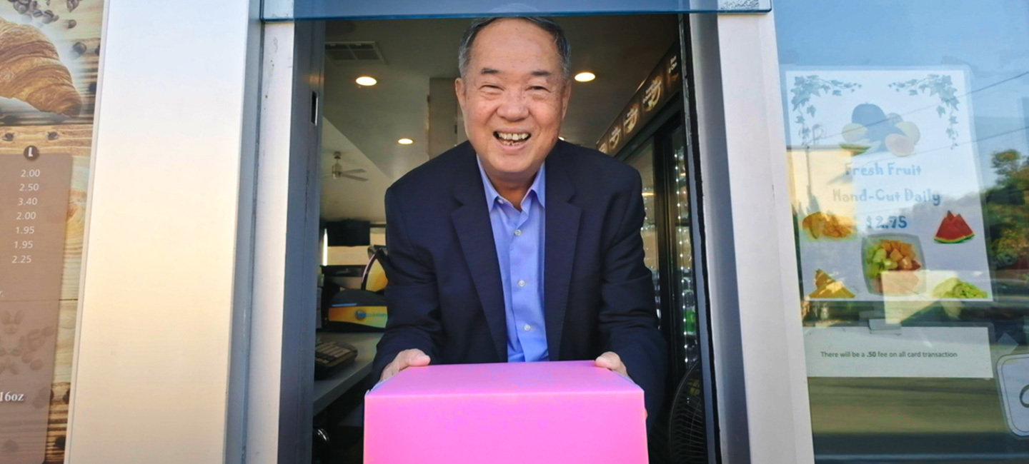 Watch Austin PBS in May for special programming celebrating Asian Pacific American Heritage Month, including the award-winning documentary *The Donut King* from *Independent Lens*.