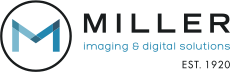 Miller Imaging & Digital Solutions Logo. This image is a link that takes you to https://millerids.com/.