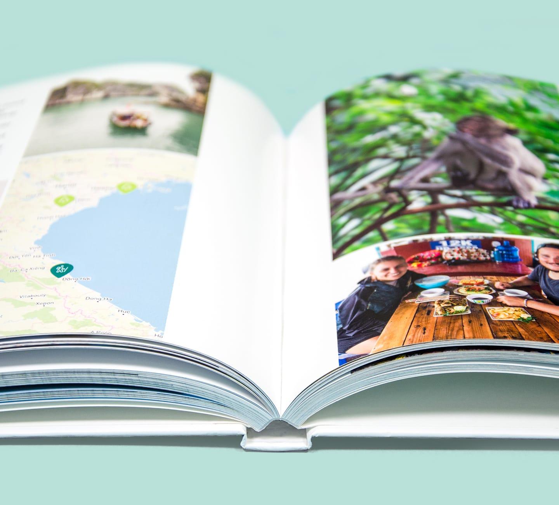 photobook hardcover open
