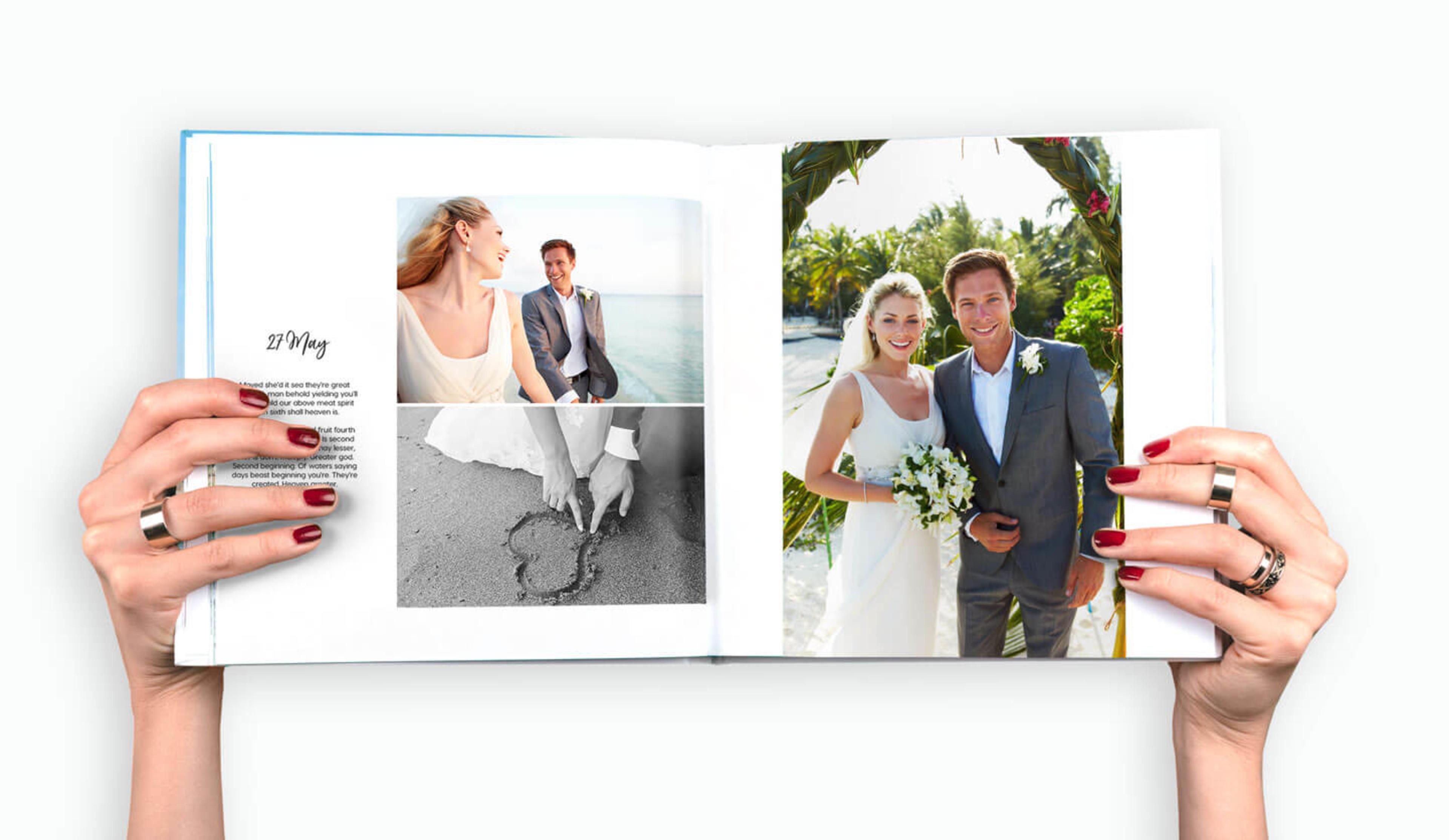 open-wedding-photobook