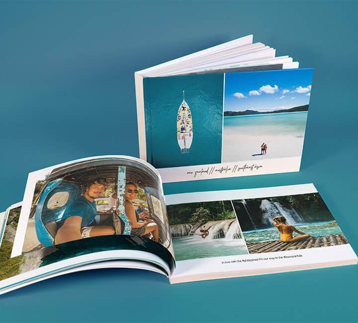 photo book open