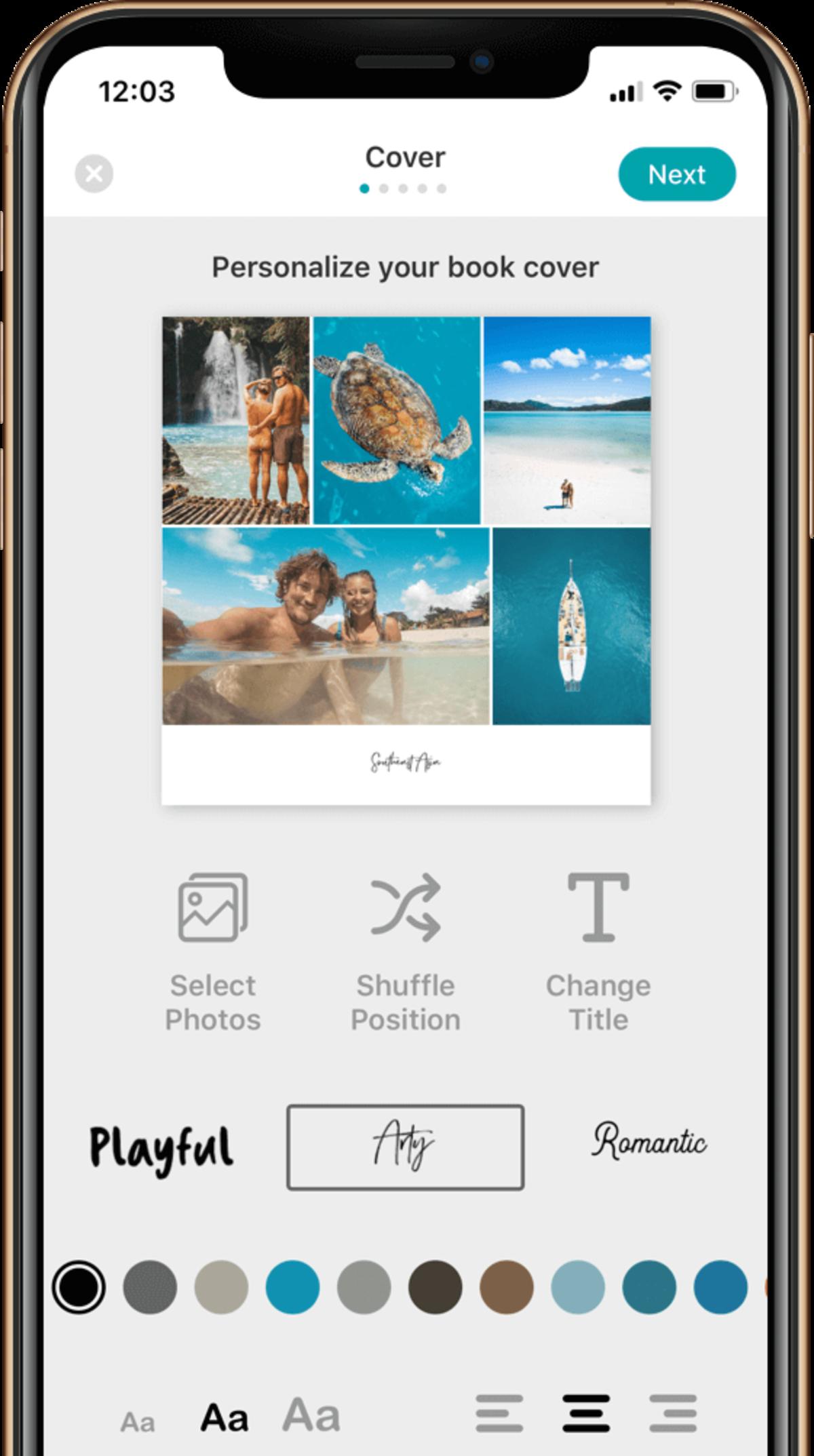 print app screenshot