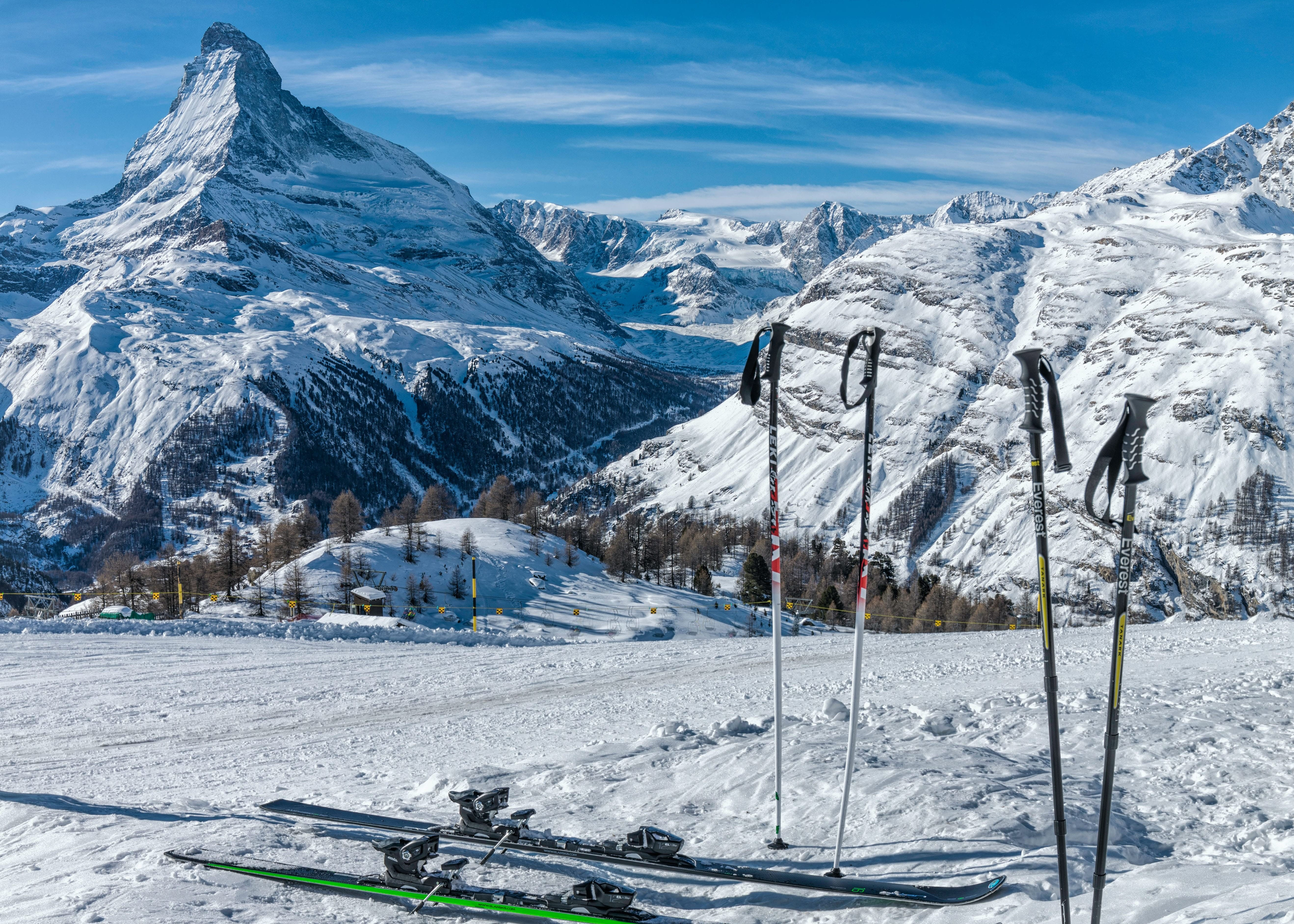 Zermatt-Skigebiet